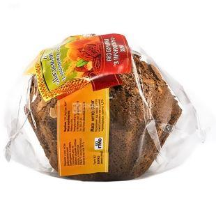 УкрЭкоХлеб, 200 г, кекс Миндальный с курагой бездрождевой, С проросшей пшеницы