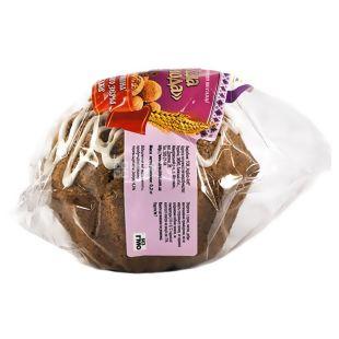 УкрЭкоХлеб, 200 г, кекс Восточное наслаждение бездрождевой, С проросшей пшеницы