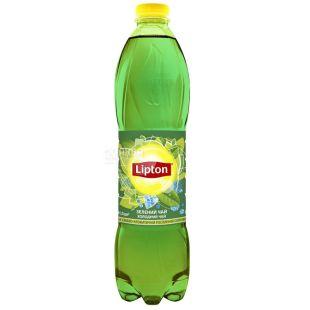 Lipton, 1,5 л, холодный чай, Зеленый, ПЭТ