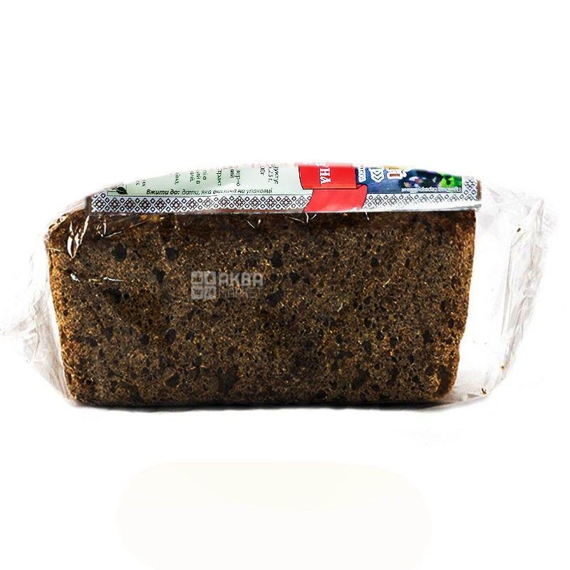 УкрЭкоХлеб, 330 г, хлеб зерновой, Без дрожжей, Солодовый с овощами, м/у