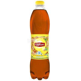Lipton, 1,5 л, Чай Липтон, холодный, чёрный, Персик