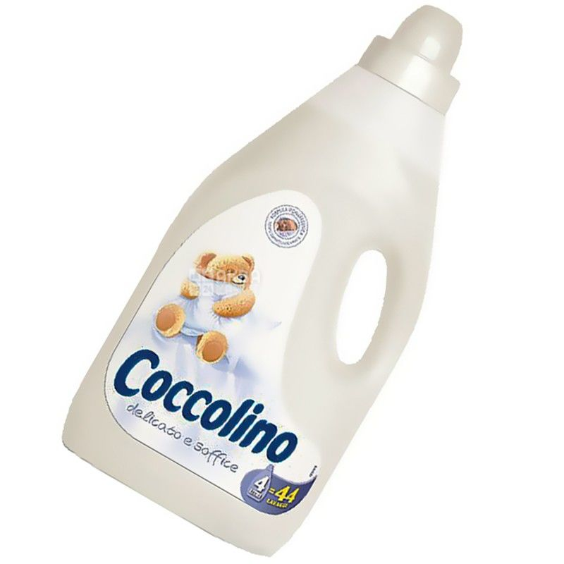 Coccolino, 4 л, кондиціонер-ополіскувач, ПЕТ