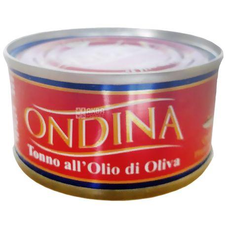 Оndina, 80 г, тунец, В оливковом масле, ж/б