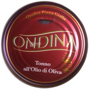 Оndina, 80 g, tuna, In olive oil, w / w