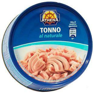 Athena, 160 г, тунец, Филе в собственном соку, ж/б