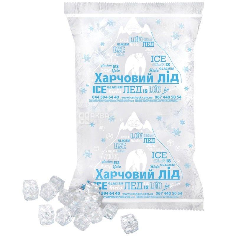 Полярный лед, Кубик, 10 кг, Лед пищевой