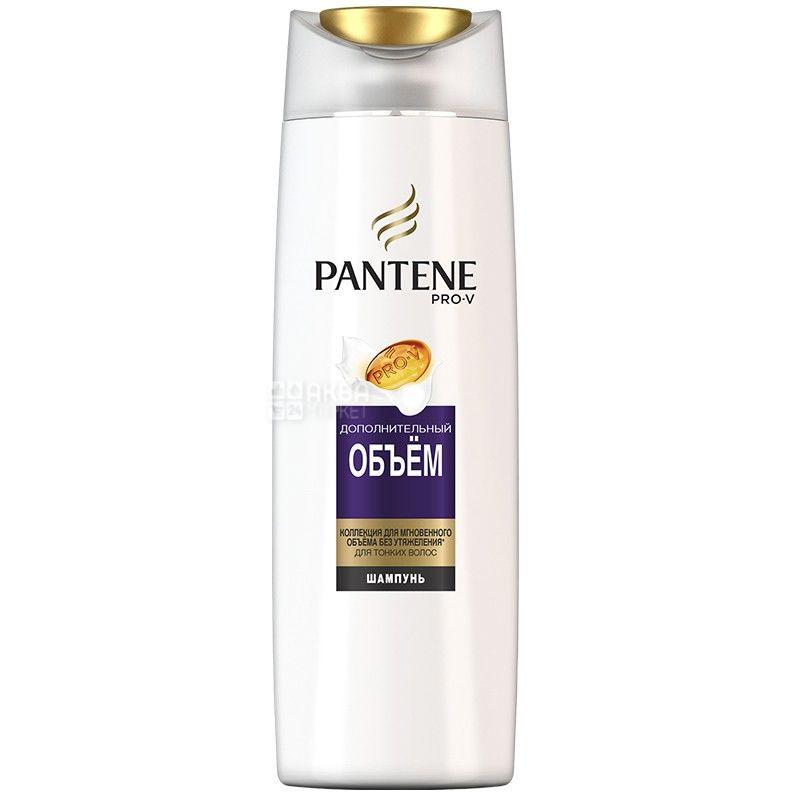 Pantene, 400 мл, Шампунь для тонкого волосся, Додатковий обсяг