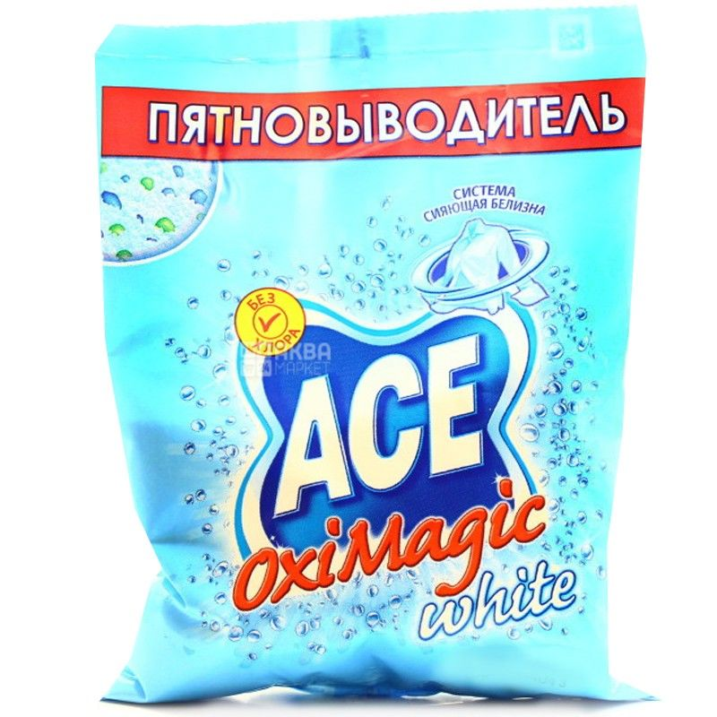АСЕ, 200 г, плямовивідник, Oxi Magic White, м/у