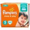 Pampers, 42 шт., 11-18 кг, подгузники, Sleep & Play, Junior