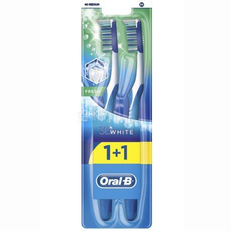 Oral-B, зубна щітка, 3D White