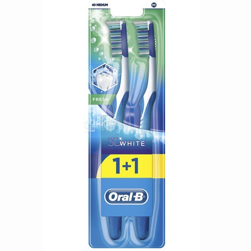 Oral-B, зубная щетка, 3D White