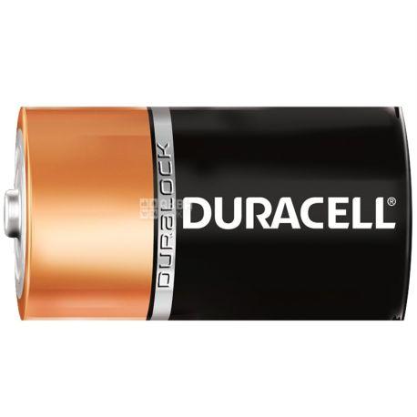 Duracell, 2 шт., C, батарейки, м/у