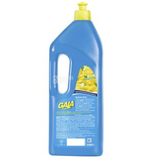 Gala, Жидкое средство для мытья посуды, Лимон, 1 л