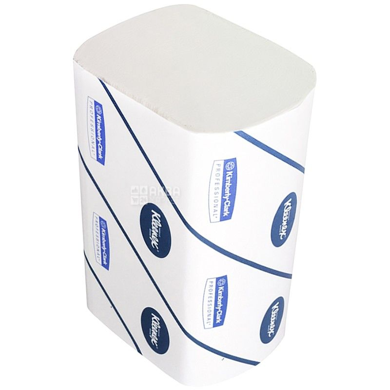 Kleenex, 96 шт., бумажные полотенца, Трехслойные, ZZ, м/у