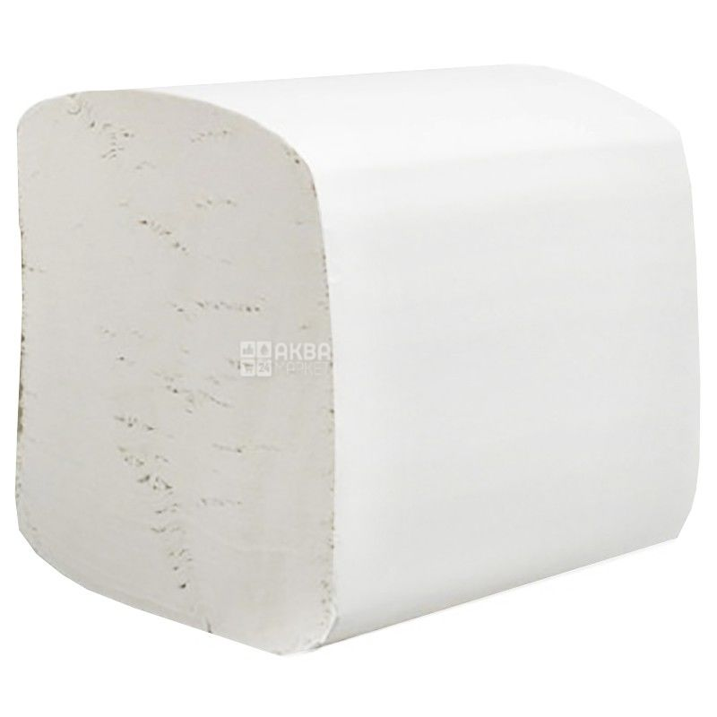 Hostess, 250 l., Toilet paper, Sheet, Double-layer, m / s