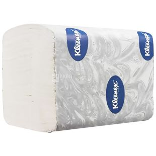 Kleenex, 200 л., туалетная бумага, Листовая, Двухслойная, м/у