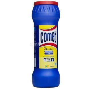 Comet, 475 g, scouring powder, Universal, Double effect, Lemon, PET