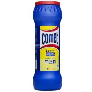 Comet, 475 г, чистящий порошок, Универсальный, Двойной эффект, Лимон, ПЭТ