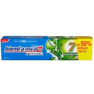 Blend-a-med, 150 мл 2 в 1, зубная паста с ополаскивателем, травы, Complex 7