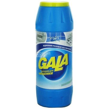 Gala, 500 г, Чистящий порошок, Хлор