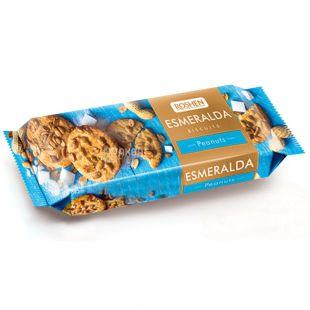 Roshen, 150 г, печенье, с арахисом, Esmeralda
