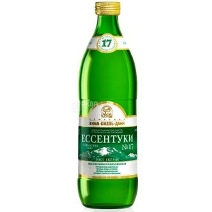 Essentuki-17, pack of 20 pcs. on 0,54 l, sparkling water, glass, glass