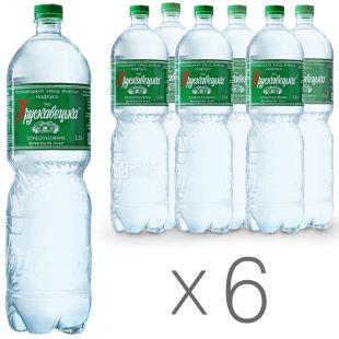 Трускавецкая Нафтуся, 1,5 л, Упаковка 6 шт., Вода слабогазированная, ПЭТ