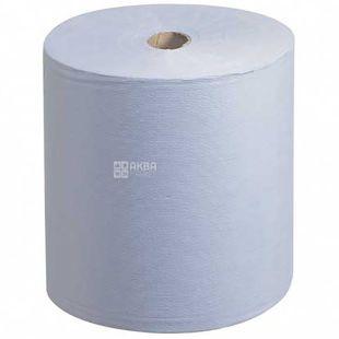 Scott, 304 м, полотенца для рук в рулоне, Голубые, однослойные, м/у