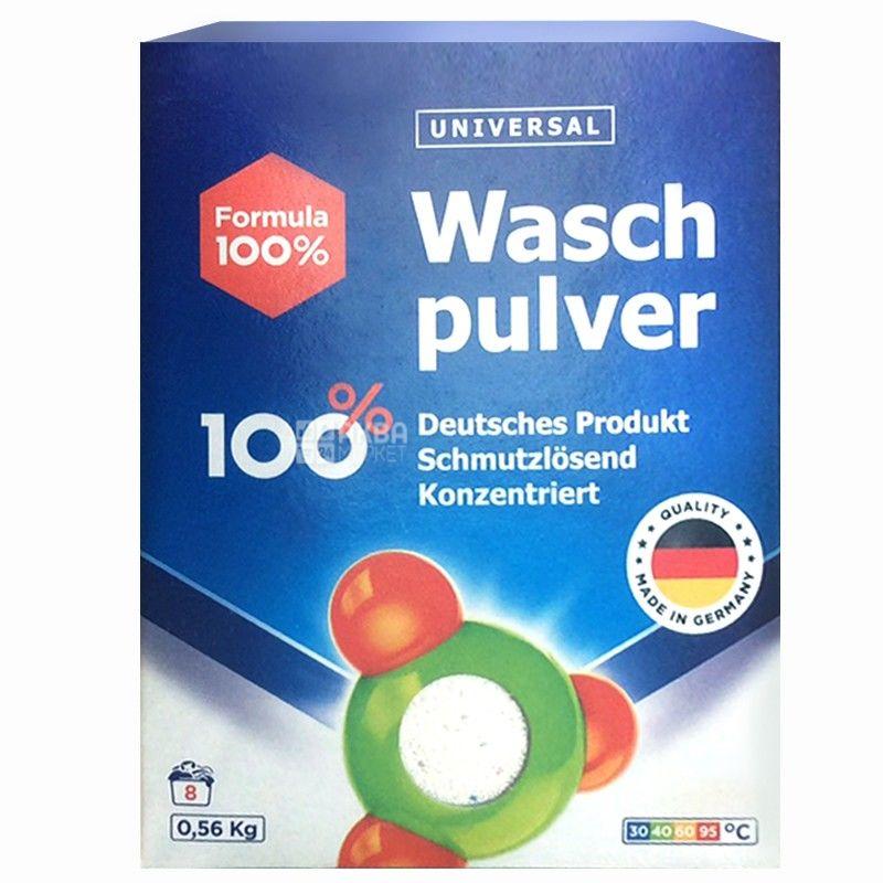 Formula 100, 560 g, washing powder, Universal
