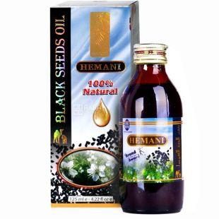 Hemani, 125 мл, масло черного тмина, стекло