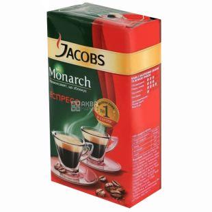 Jacobs Monarch, 230 г, мелена кава, Espresso, м/у