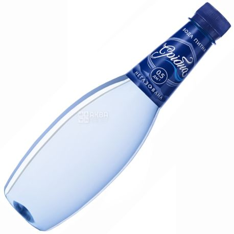 Srіbna, 0.5 l, drinking water, non-carbonated, PET, PAT