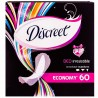 Discreet, 60 шт., прокладки, Deo Irresistible Multiform, Щоденні