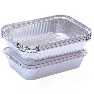Foil container, 100 pcs., 218x155x39.5 mm, 960 ml