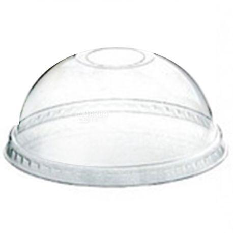 Десертний стакан з купольною кришкою прозорий 200 мл, 50 шт.