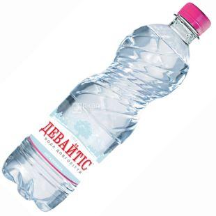 Девайтiс, 0,5 л, Вода мінеральна негазована, ПЕТ