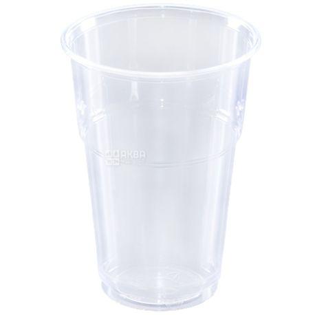 Стакан пластиковый, 50 шт., 400 мл