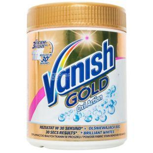 Vanish, 470 г, порошок плямовивідник, Oxi Action Gold, Для білих тканин, ПЕТ