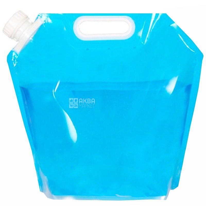 Пакет для наливу води, 5 л, З ручкою