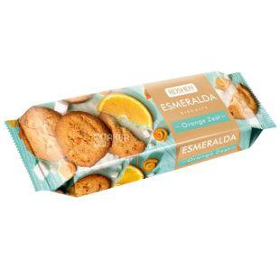 Roshen, 150 г, печиво, Зі шматочками апельсину, Esmeralda