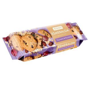 Roshen, 150 г, печиво, З вівсяними пластівцями та родзинками, Esmeralda