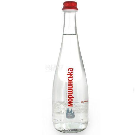 Моршинская Premium, 0,5 л, Упаковка 6 шт., Вода минеральная негазированная, стекло