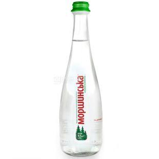 Моршинская, упаковка 6 шт. по 0,5 л, слабогазированная вода, cтекло