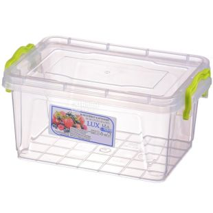 Container No. 4, 1.5 l, Food, Plastic, Lux