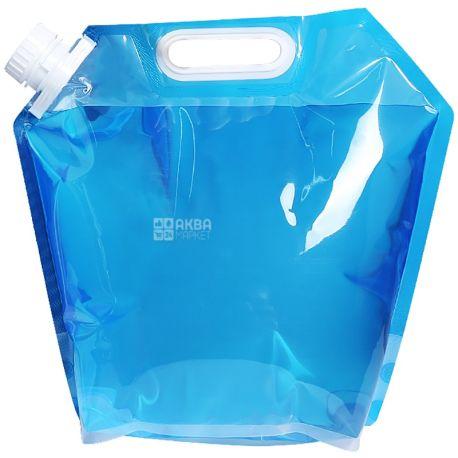 Пакет для налива воды, 10 л, С ручкой