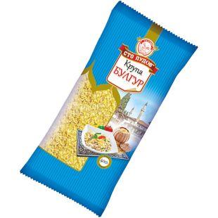 Сто пудов, 400 г, пшеничная крупа, Булгур