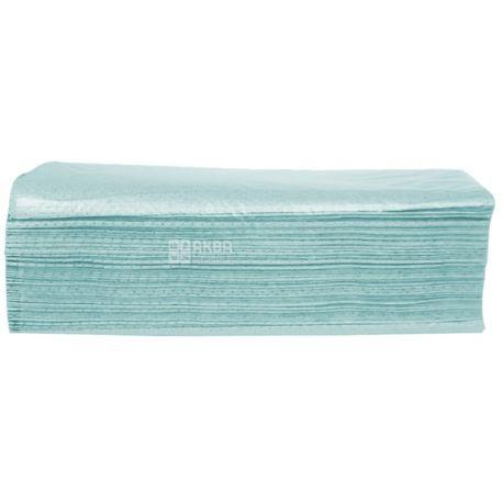 Wellis, 160 листов, Бумажные полотенца Велис, однослойные, V-сложения, ассорти