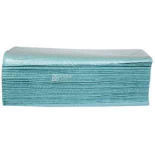 Wellis, 200 листов, Бумажные полотенца Велис, однослойные, V-сложения, ассорти