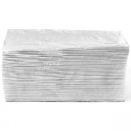 Wellis, 150 листов, Бумажные полотенца Велис, 2-х слойные, V-сложения