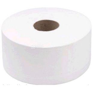 Wellis, 1 рул., Туалетная бумага Велс, Джамбо, 2-х слойная, 100 м